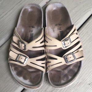 Birkenstock | Granada Two Strap Sandals Size 38